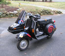 P200 with Cozy sidecar
